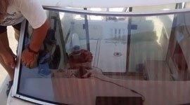 vetri per barche