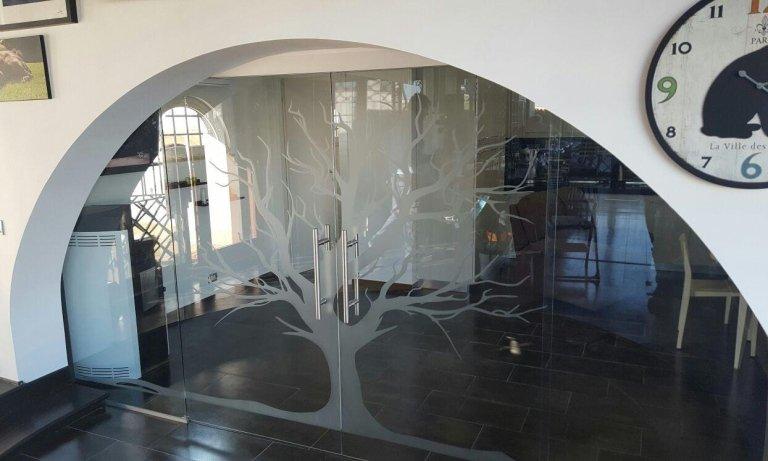 Vetrate e porte a vetro artistiche