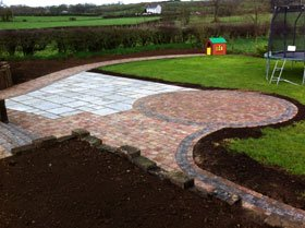 Garden designs - Belfast - Country Gardener - Decking