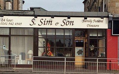 S. Sim & Son office