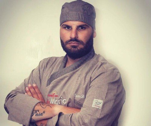 chef della pizzeria da Mario