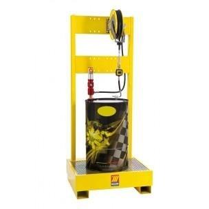 installazione postazione fusti gasolio