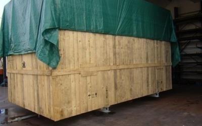 struttura per imballaggio