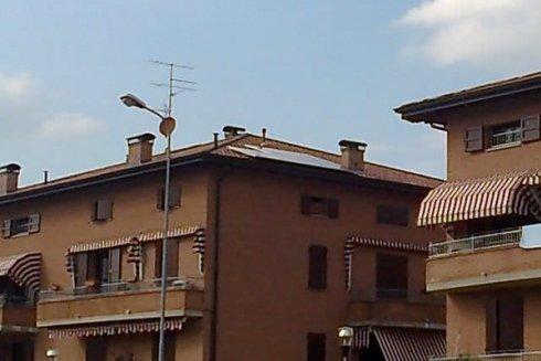 Impianti solari per abitazioni.