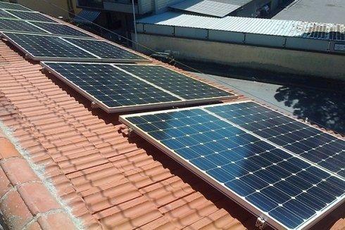 Impianti solari per industria.