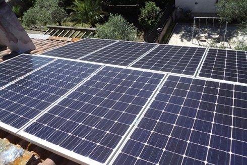 Sistemi per la produzione di energia solare.