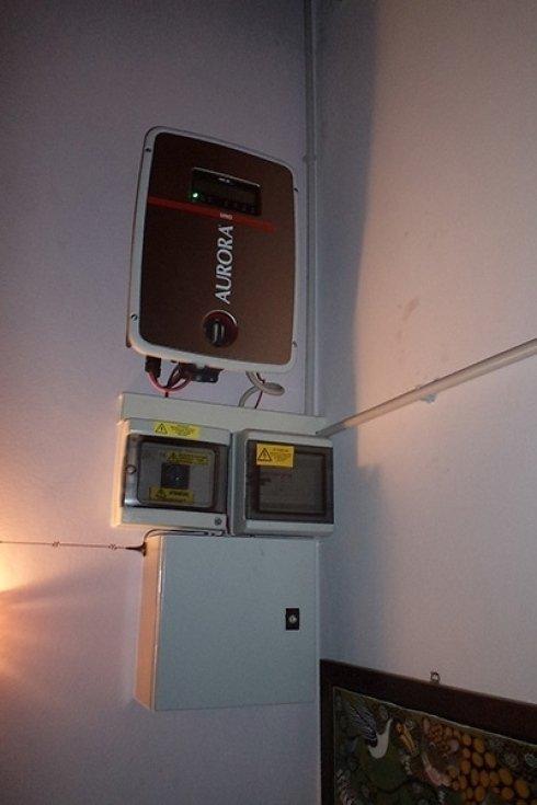 Economizzatori di energia per sistemi di energia solare.
