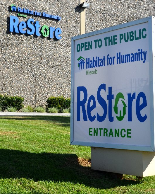 Habitat for Humanity ReStore and Habitat for Humanity Riverside, located at 2180 Iowa Ave