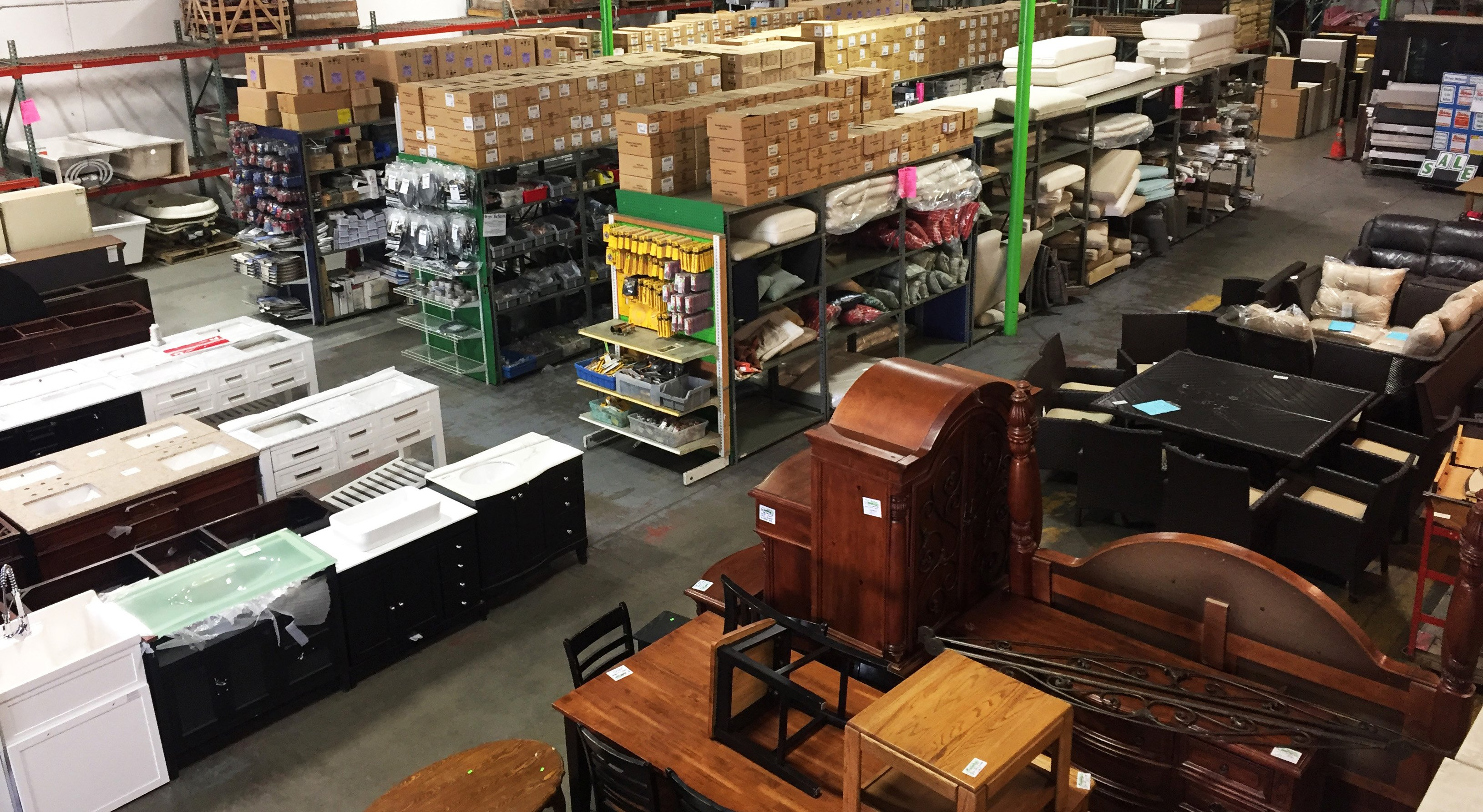 The Riverside ReStore offers a diverse selection of home improvement items, home decor, furniture, tools, supplies, DIY, windows, doors,
