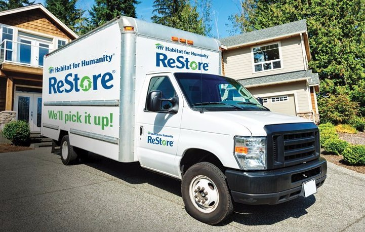 Habitat for Humanity ReStore's Donation Pick Up service in Riverside, Corona, Norco, Moreno Valley, and Jurupa Valley