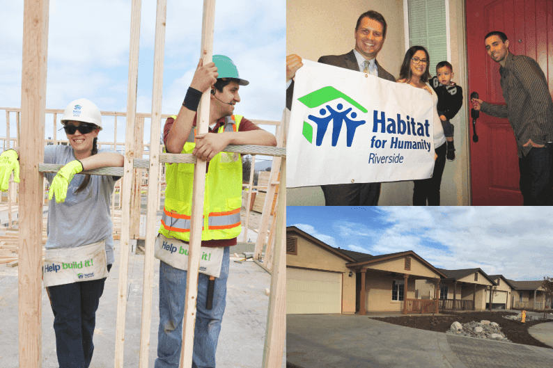 Habitat for Humanity Riverside- We believe everyone deserves a safe, decent, and affordable place to live.