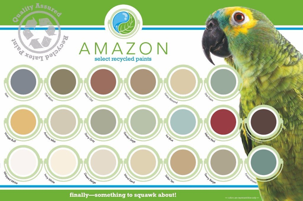 Amazon Paint Colors sold at the Habitat for Humanity ReStore in Riverside