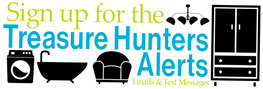 Sign Up for the Riverside ReStore's Treasure Hunters Email List