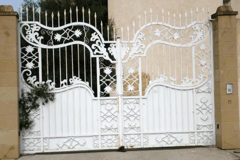 recinzioni in ferro, recinzioni metalliche, inferiate in ferro