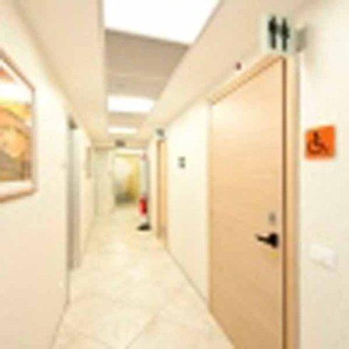 corridoi studio radiologico casalotti