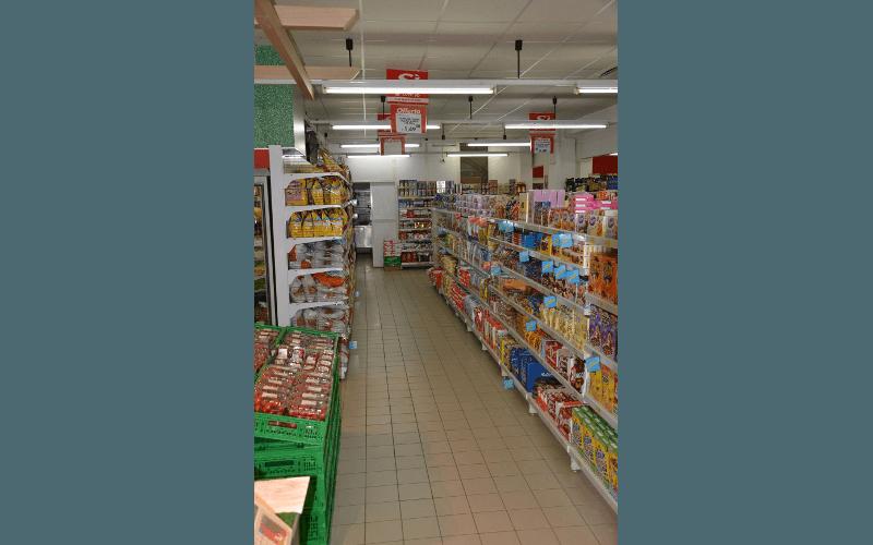 Una corsia del supermercato