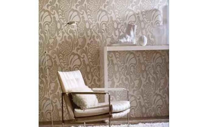 Massai Flock Wallpaper