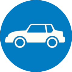 blue car icon