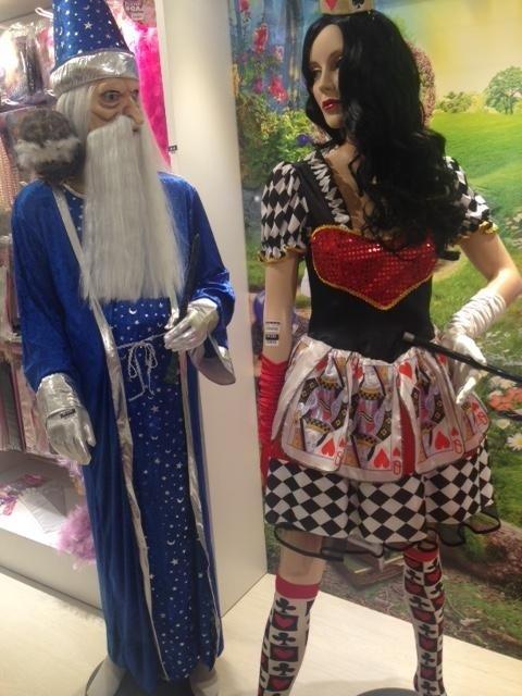 costumi di carnevale e halloween