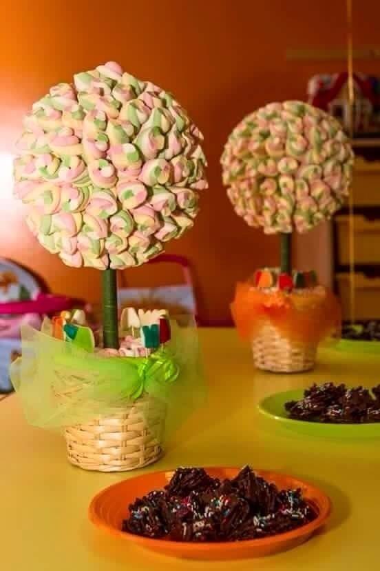 creazioni di marshmallow