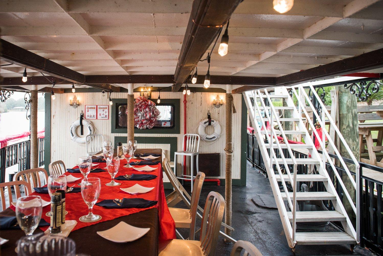 Dido's Restaurant Yellowstone Paddlewheeler downstairs