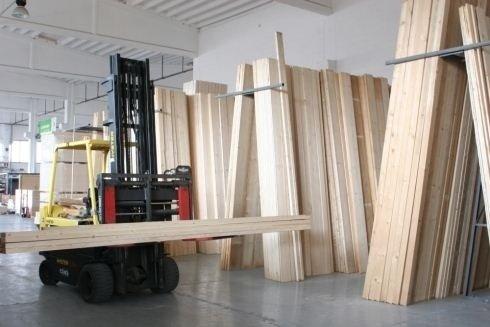Magazzino tavole in legno