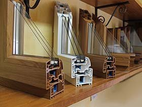 Finestre in PVC e con triplo vetro