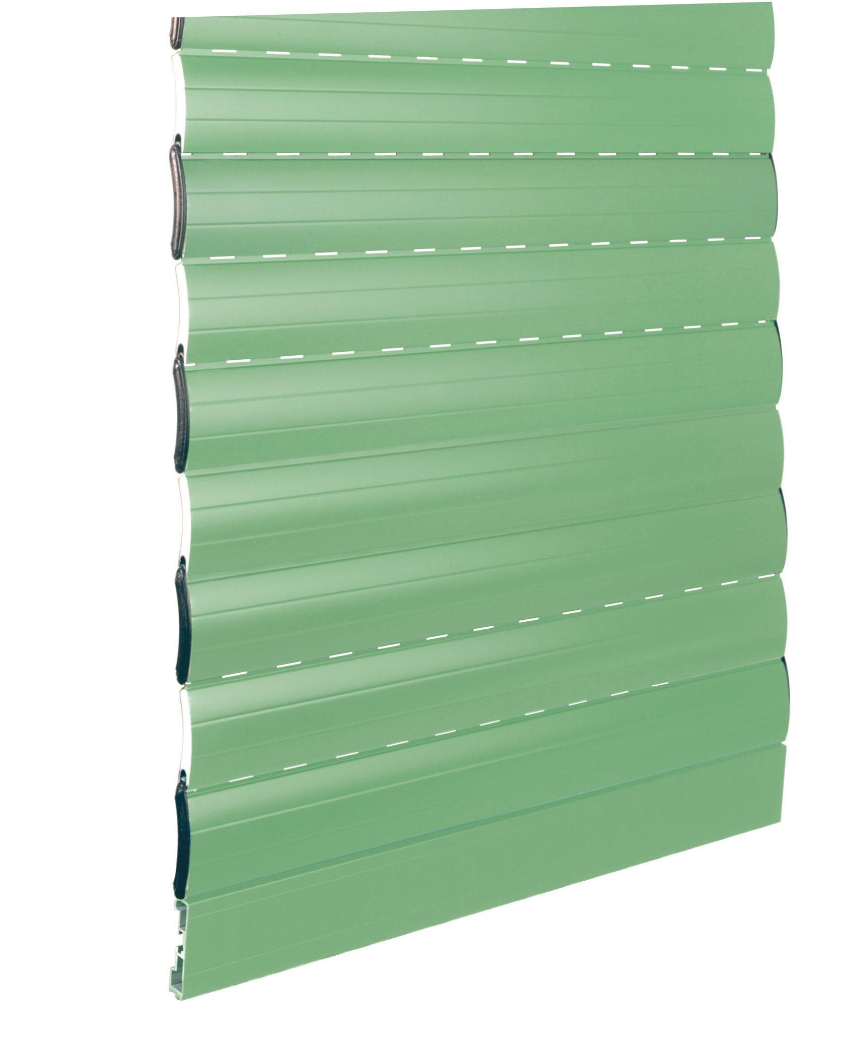 tapparella blindata avvolgibile verde