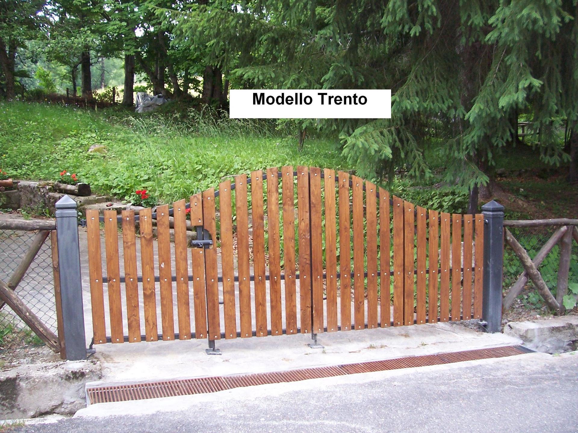 cancello Modello Trento