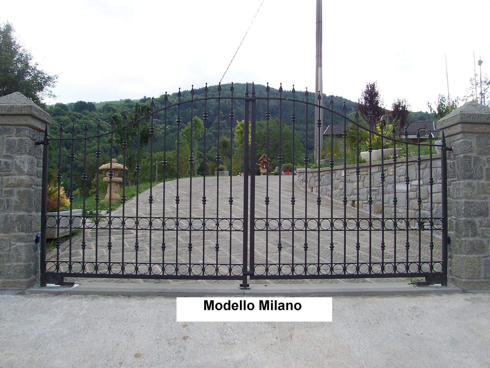 cancello Modello Milano
