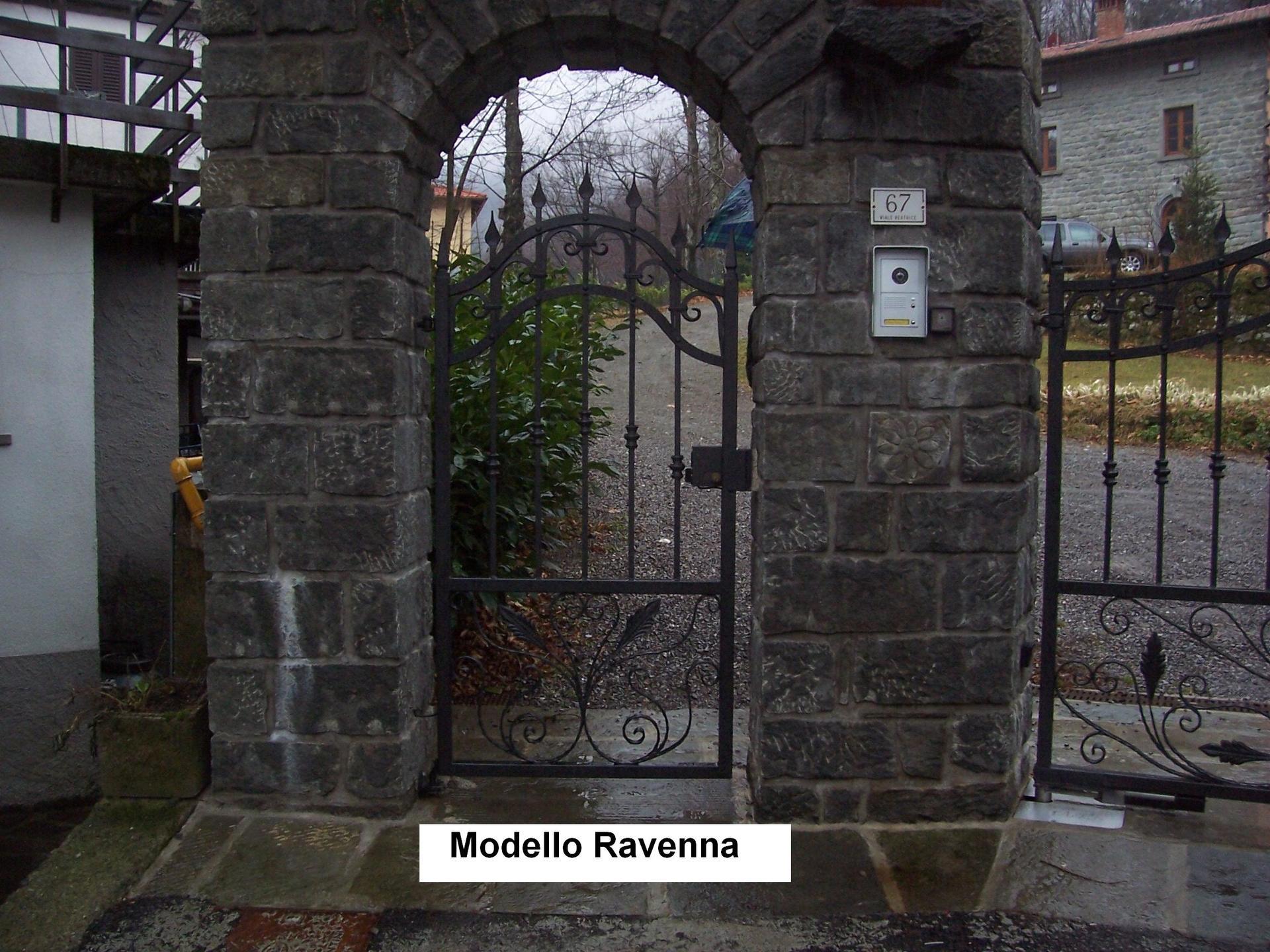 cancello società Modello Ravenna