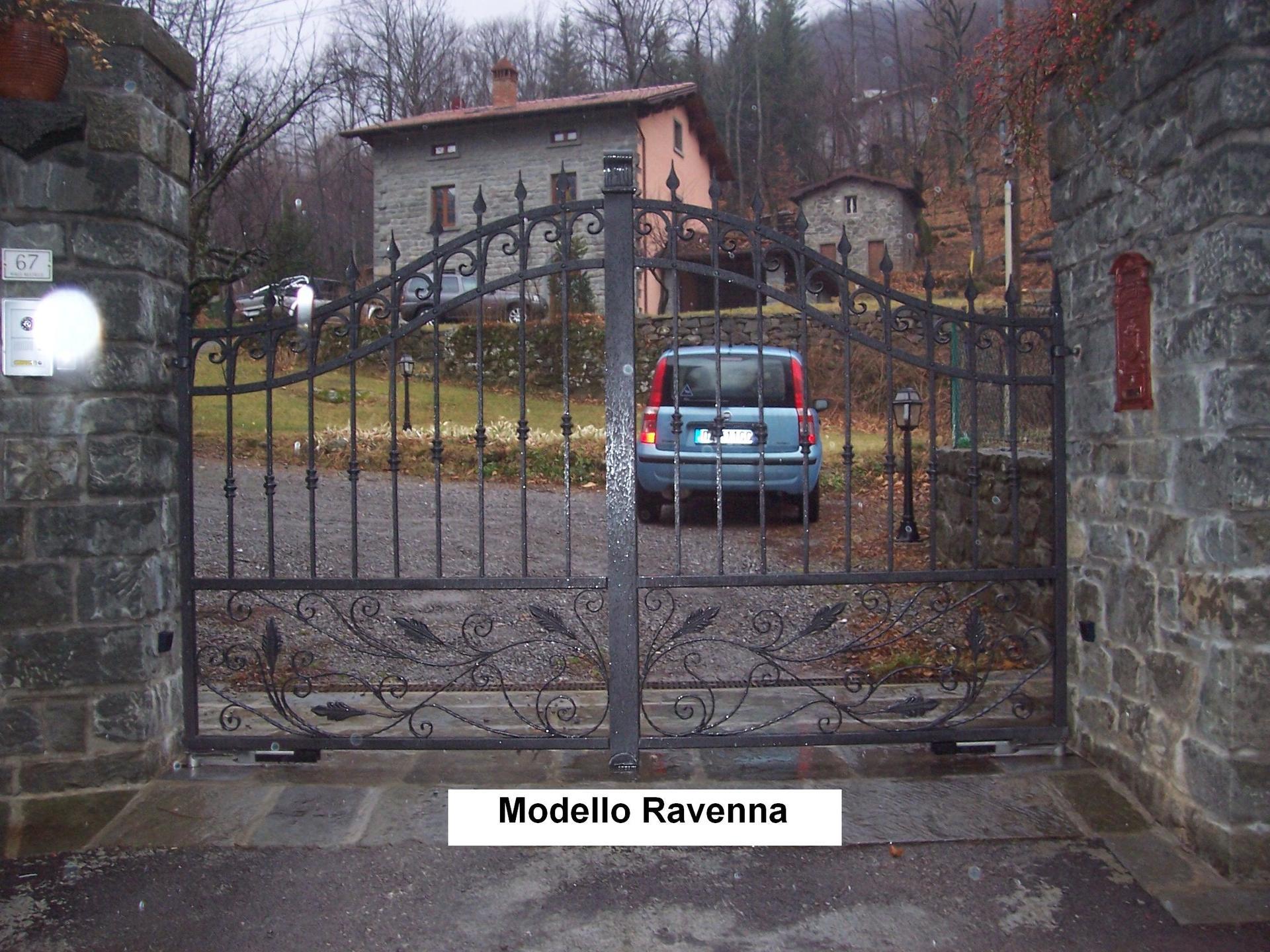 Cancello per case Modello Ravenna