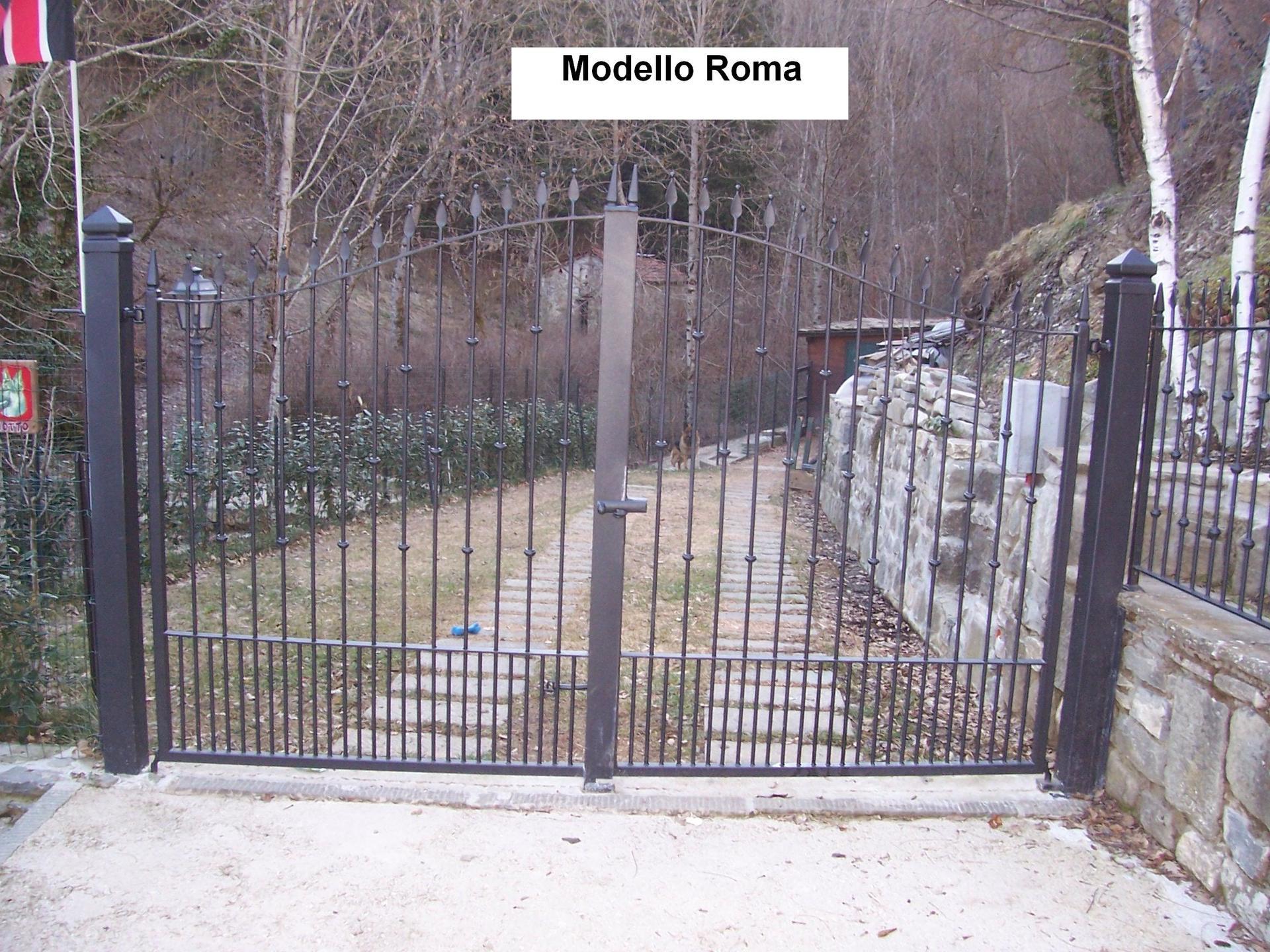 Cancello in ferro Modello Roma