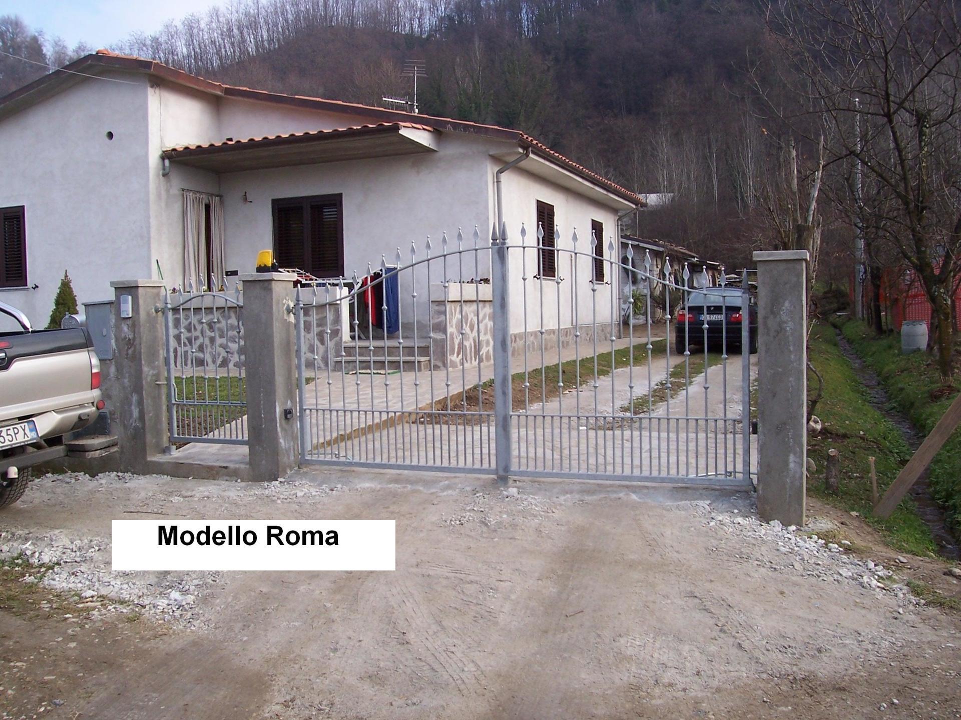 Cancelli per casa Modello Roma