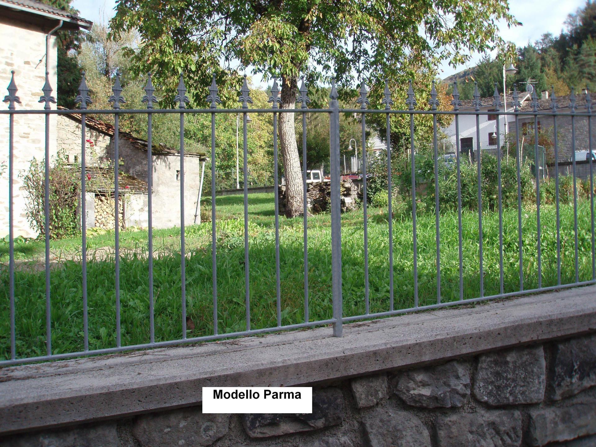 Ringhiera per giardino Modello Parma