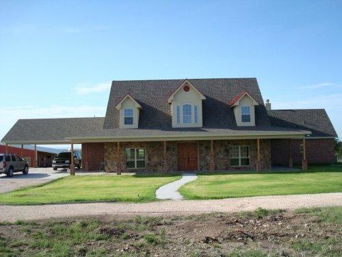 custom home exteriors in San Angelo, TX