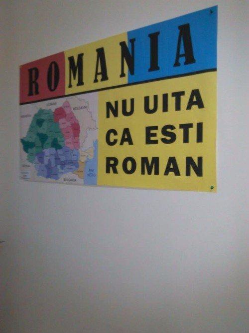 Non dimenticate che siete un rumeno