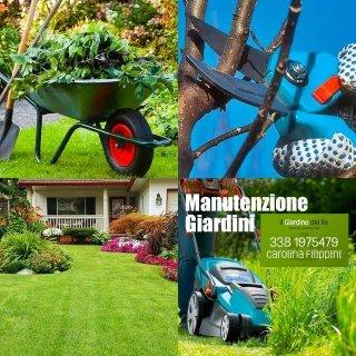 manutenzioni giardini, manutenzione del verde, giardinaggio