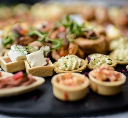 Canapes, Red Poppy Catering, Inverness, Highlands