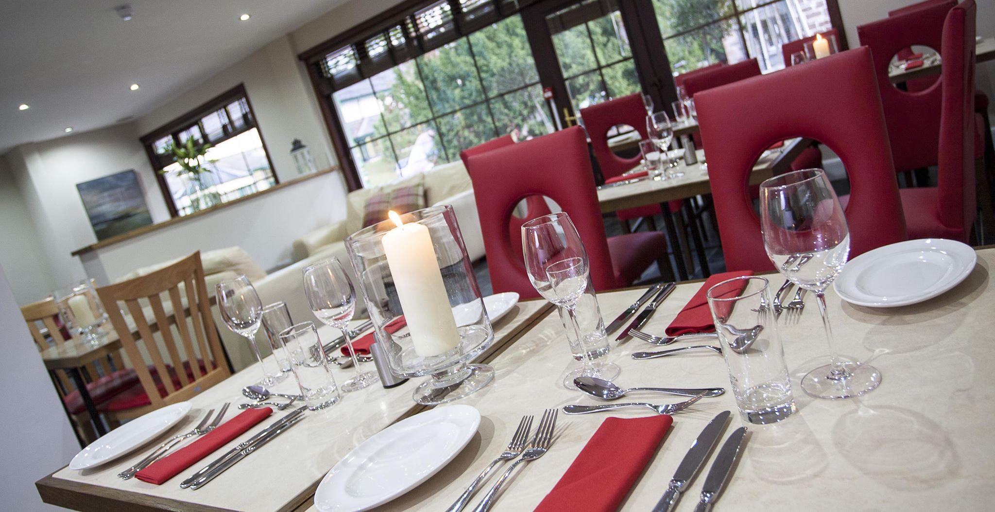 Red Poppy Restaurant, beautiful setting Strathpeffer, Highlands