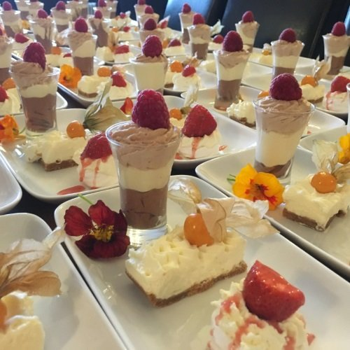 Desserts, Red Poppy Catering, Iverness, Highlands