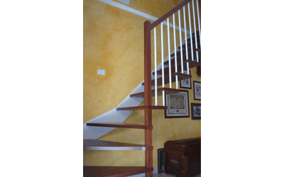 scala lato muro