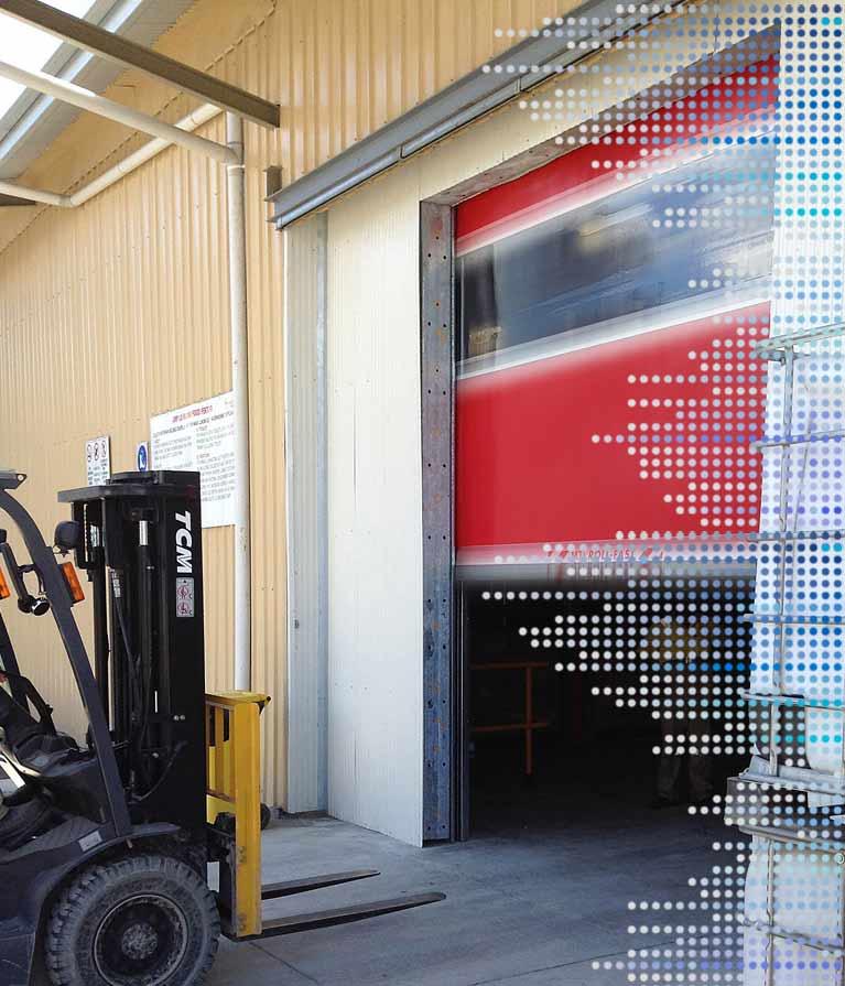 SI 163VSD roll fast door