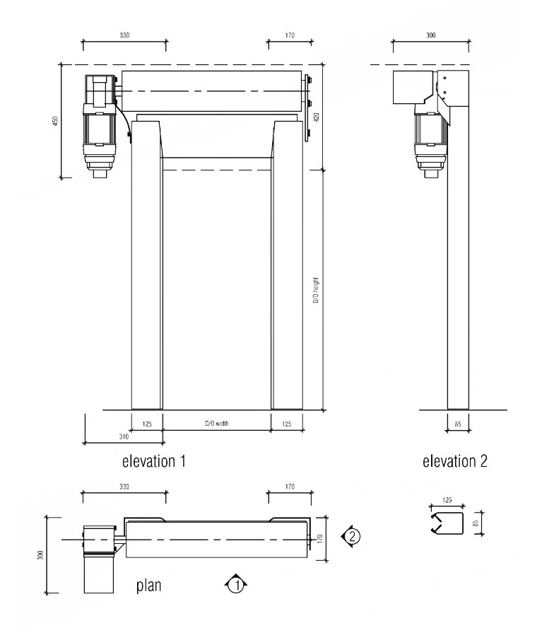 S900 technical drawings