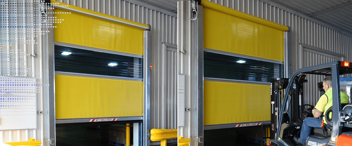 S1100 roll-fast door & S1100 Roll-Fast Door | Melbourne | M.T.I.Qualos Pty Ltd
