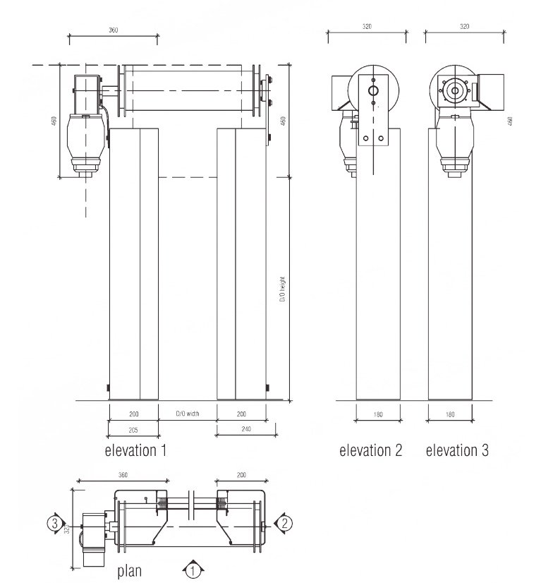 S1100 technical drawings