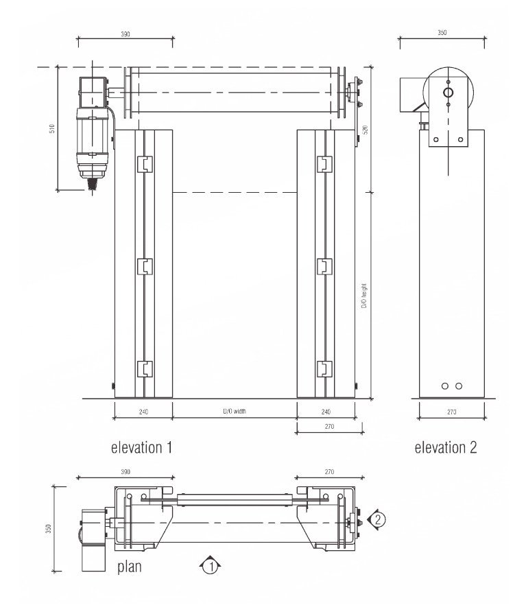 s1300 technical drawing