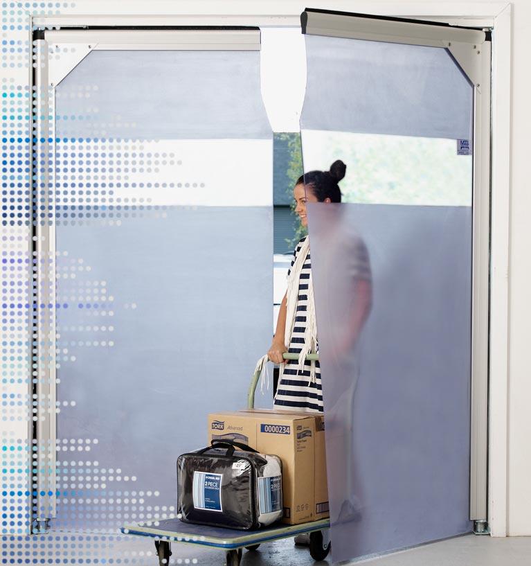 See-Thru aluminium swing doors in Melbourne