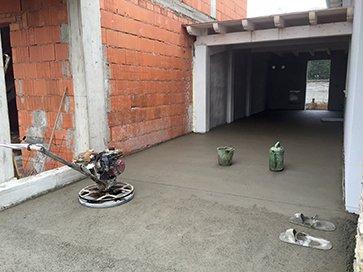 L'installazione nel garage è finito