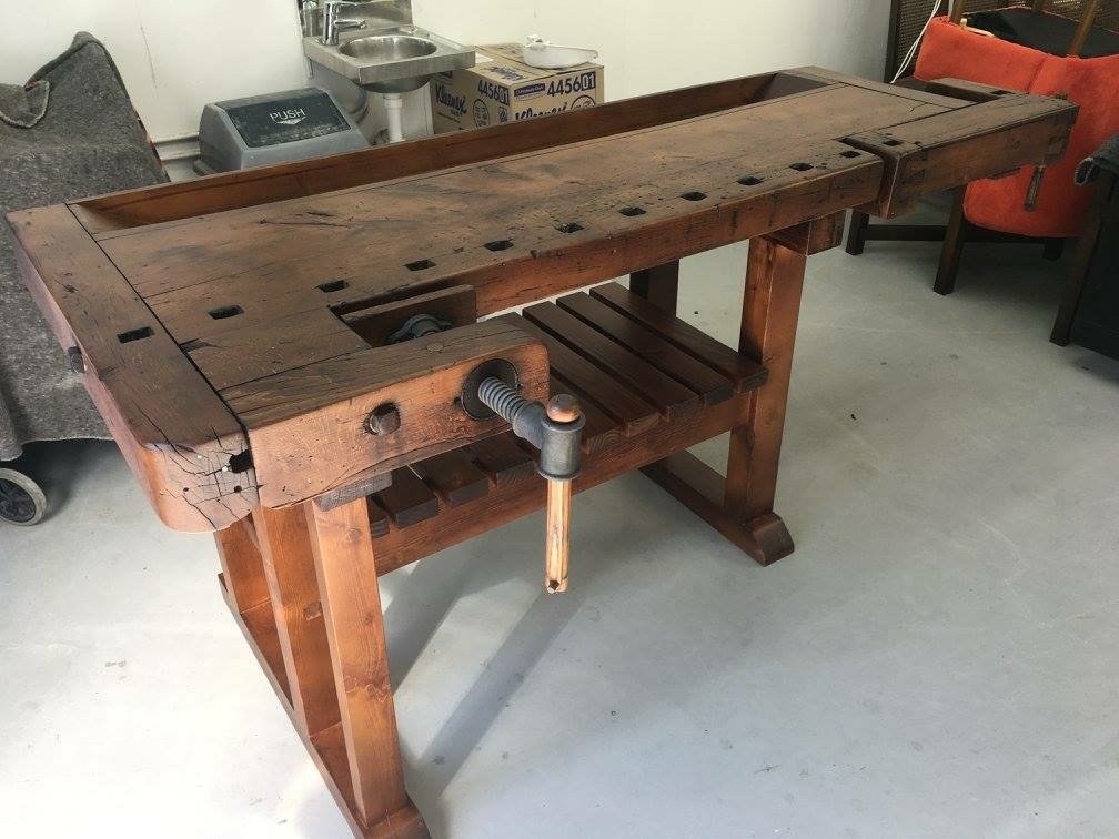 Restored Cabinet Makers workbench